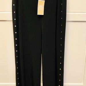 MICHAEL Michael Kors Pants - NWT Michael Kors Black & Silver Studded pants